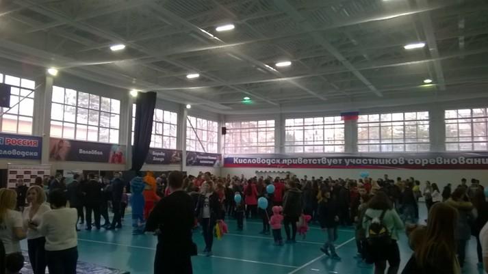 Спортивная ярмарка секций и кружков прошла в Кисловодске