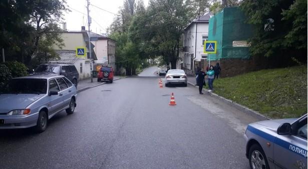 В ДТП ПОСТРАДАЛ РЕБЕНОК-ПЕШЕХОД
