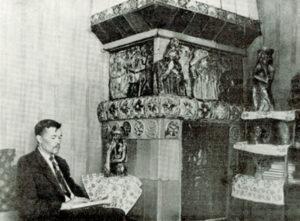ЗНАКОМЬТЕСЬ: АВТОР МАЙОЛИКИ НАРЗАННЫХ ВАНН ХУДОЖНИК-КЕРАМИСТ П.К.ВАУЛИН(6+)