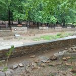 При благоустройстве реки Ольховки в нацпарке создали тупик ливневым водам