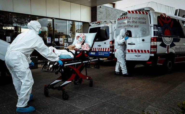 Пандемия COVID-19. 17 августа