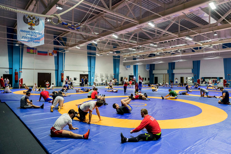 В Кисловодске тренируются сильнейшие дзюдоисты России
