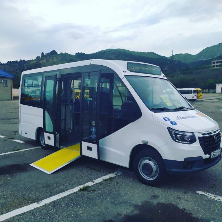 Новый пассажирский микроавтобус «Газель» вышел на кисловодские улицы