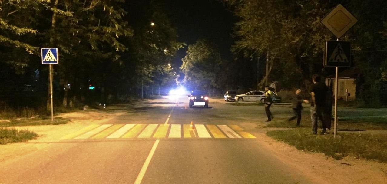В Пятигорске на пешеходном переходе водитель сбил двух женщин