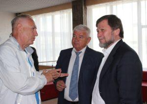 Замминистра спорта РФОдес Байсултанов посетил спортивные объекты Кисловодска
