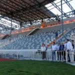 Спортивные объекты Кисловодска осмотрел первый заместитель министра спорта РФ Азат Кадыров