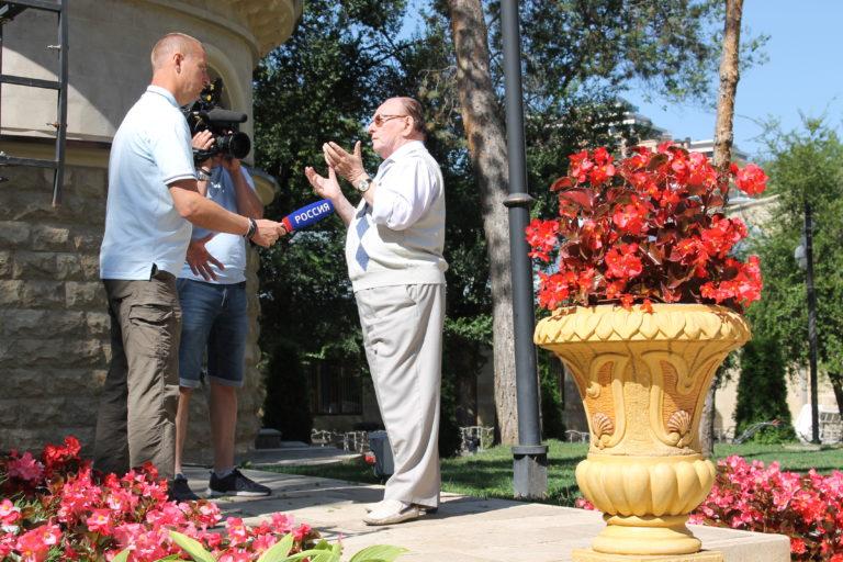 Об уникальности и необходимости восстановления Дома Реброва в Кисловодске рассказал Борис Розенфельд в интервью центральному ТВканалу