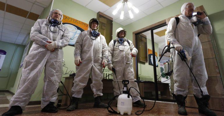 Пандемия COVID-19. 14 августа