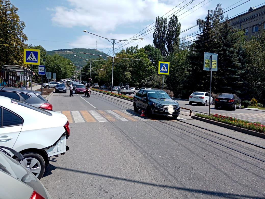 В Пятигорске в ДТП пострадал пешеход
