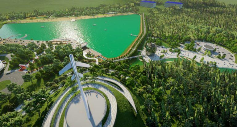 ВКисловодске приступили к восстановлению Старого озера