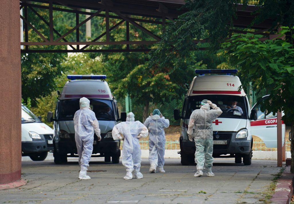 Пандемия COVID-19. 22 августа