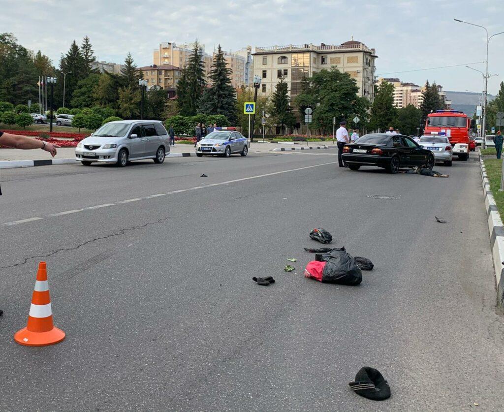 В Кисловодске под колесами иномарки погибла женщина-пешеход