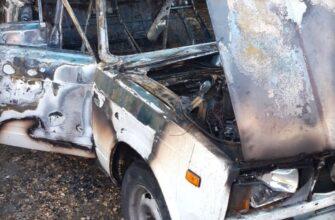 В Пятигорске сожгли машину члена азербайджанской общины