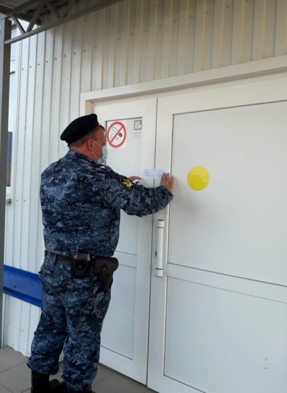 В селе Дивном закрыли стадион из-за нарушений пожарной безопасности
