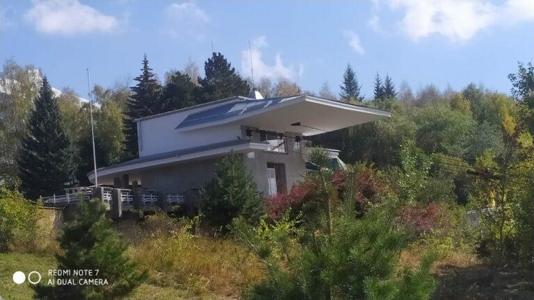 В Национальном парке «Кисловодский» ведется реконструкция канатной дороги