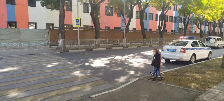На пешеходном переходе в Кисловодске установили макет фигуры ребенка