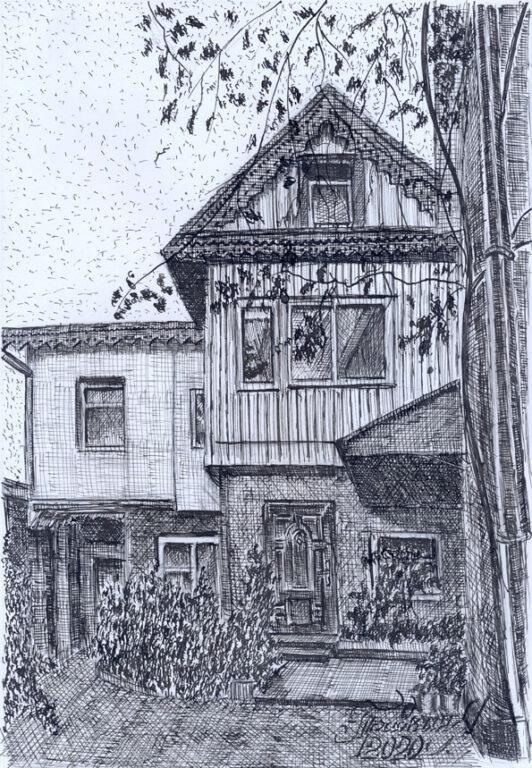 Дом А.М.Стопани в Кисловодске по ул. Чкалова №39.