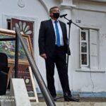На территории музея-усадьбы Н.А.Ярошенко празднично открыли новую туевую аллею