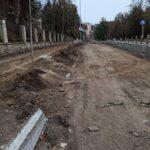 В Кисловодске развернулись масштабные работы по благоустройству проспекта Ленина