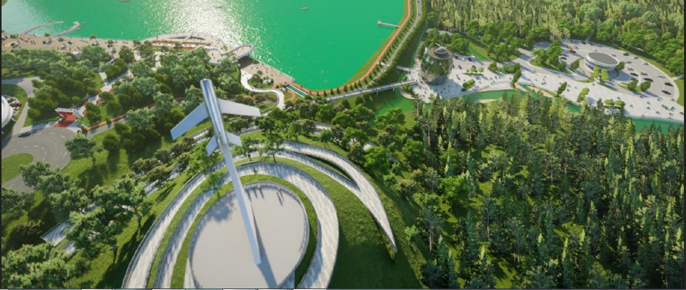 Проект Комсомольского парка в Кисловодске уже проходит Госэкспертизу