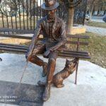 В Кисловодске на улице Ходжаева установили памятник архитектору, а фонтаны подготовили к зиме