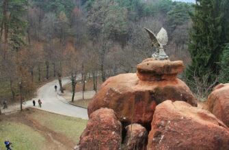 Скульптуру «Орел» в Национальном парке «Кисловодский» ждет капитальный ремонт