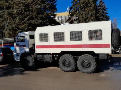 В Пятигорске задержали десятки участников протестной акции