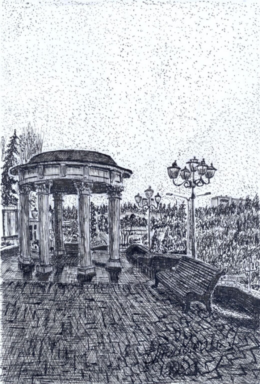 Новый Кисловодск в творчестве художника