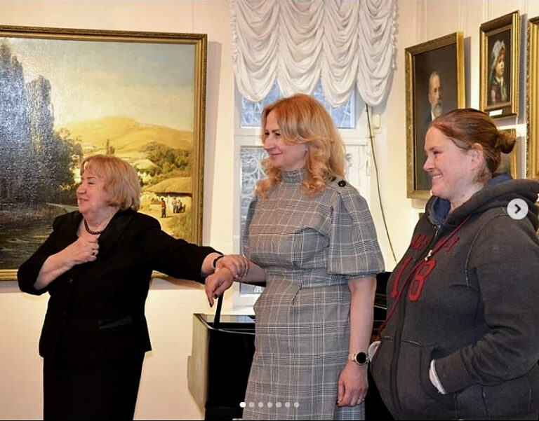 Двойной праздник прошел в музее-усадьбе Ярошенко