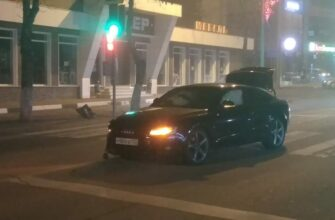 Кисловодчане сообщили о вечерней аварии на проспекте Победы