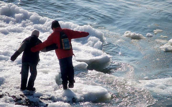 ЧП на Новом озере: кисловодчанин успел спасти ребенка, упавшего в воду