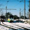 Снегопад в Пятигорске помешал трамвайному движению: пять трамваев не вышли на линию