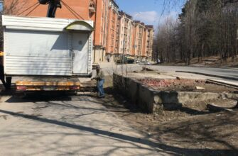 В Кисловодске  за три месяца снесли 20 незаконно возведенных объектов