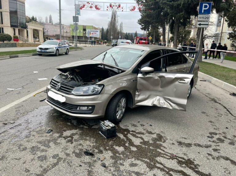 К автоаварии с двумя пострадавшими в Кисловодске привело несоблюдение безопасной дистанции