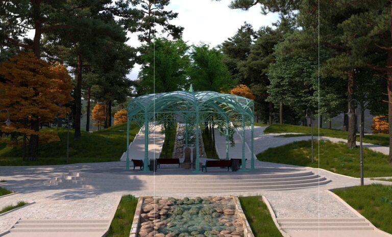 В Комсомольском парке в Кисловодске появятся фонтаны, объекты для отдыха и даже бювет с минеральной водой