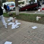 Очередное ДТП произошло на проспекте Победы в Кисловодске