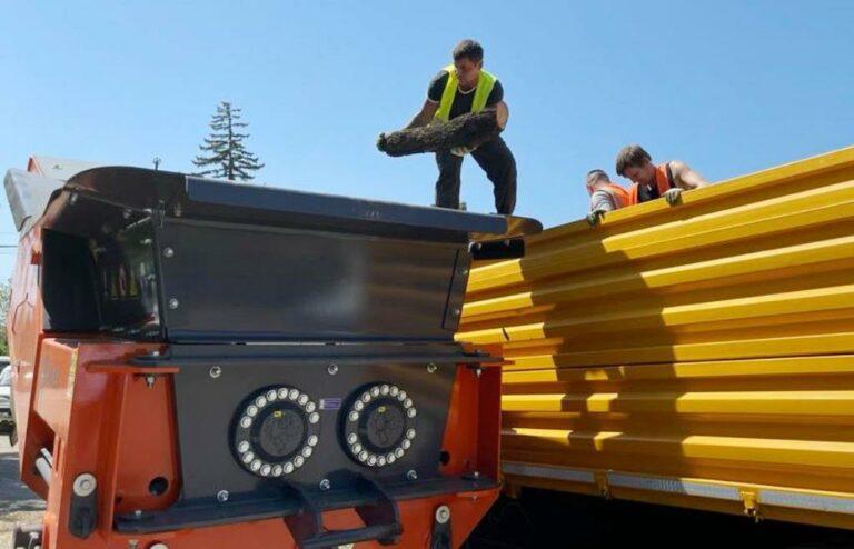 Крупный строительный мусор перестает быть проблемой! На КМВ поступило новое оборудование