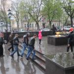 Дождь - не помеха: Кисловодск отметил День Победы
