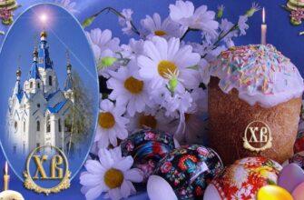Православных россиян поздравляем с великим праздником Пасхи!