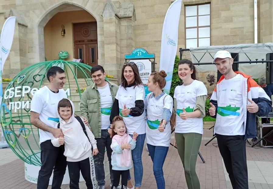 """""""Зеленый марафон"""" прошел на Курортном бульваре Кисловодска"""
