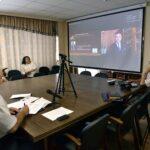 Ректор Пятигорского госуниверситета принял участие  в оксфордских дебатах