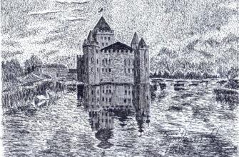 Замок Шато Эркен в Кабардино-Балкарии