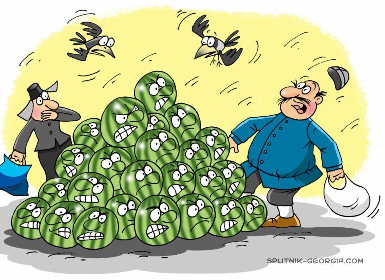 Сезон дынь и арбузов – испытание для мусоровывозящих компаний