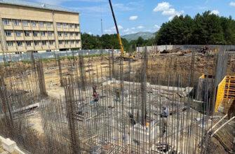 Возобновившееся строительство нового корпуса кисловодской горбольницы идет полным ходом