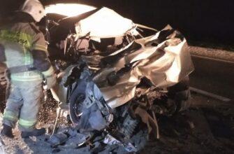 Два человека погибли в аварии на Ставрополье
