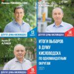 В Кисловодске подводят итоги выборов в городскую думу