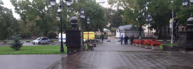 На пешеходном переходе в Кисловодске иномарка сбила насмерть пожилую женщину