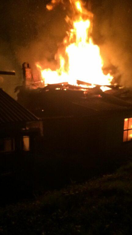 В Кисловодске при пожаре погиб человек