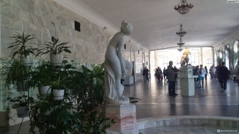 Нарзанная галерея в Кисловодске закрывается на капремонт до конца года