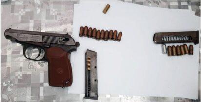 Жителя Ставропольского края задержали за хранение оружия исильнодействующих веществ